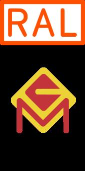 Logo - Fachverbandes und der Gütegemeinschaft Metallzauntechnik e.V.
