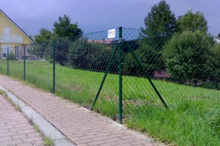 Maschendrahtzaun, mossgrün, H=125cm